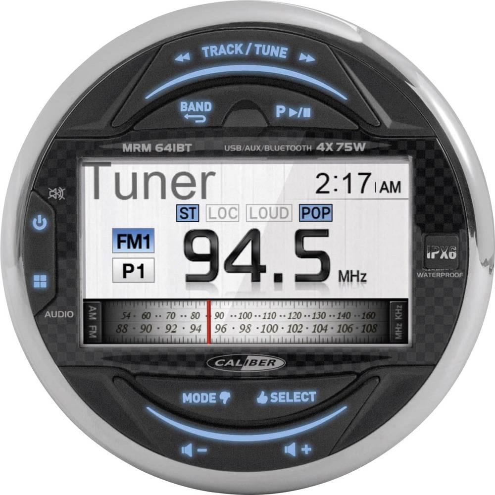 Marine Headunit Caliber Audio Technology MRM641BT Stænkvandsbeskyttet