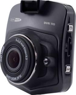 Dashcam Caliber Audio Technology DVR110 Betragtningsvinkel horisontal=140 ° Mikrofon, Display, Batteri