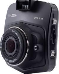 Dashcam med GPS Caliber Audio Technology DVR210 Betragtningsvinkel horisontal=140 ° Batteri, Display, Mikrofon