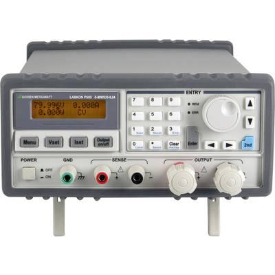 Gossen Metrawatt LABKON P500 120V 4.2A Bench PSU (adjustable voltage) 0.001 V - 120 V DC 0.001 - 4.2 A 500 W programmable No. of outputs 1 x