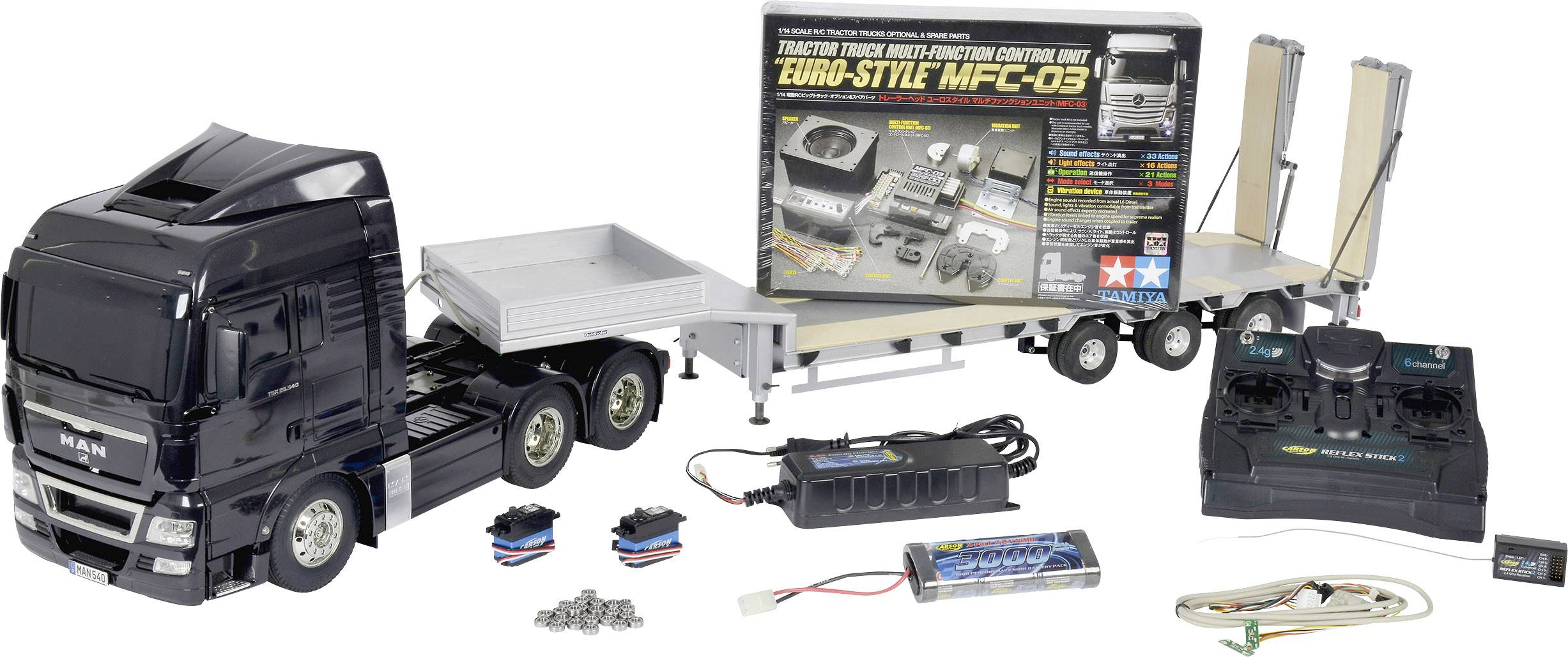 Tamiya 56346 MAN TGX 26 540 1:14 Electric RC model truck