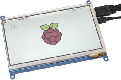 Raspberry Pi® display unit rb-lcd-7-2 Raspberry Pi®, Banana Pi, Cubieboard, pcDuino