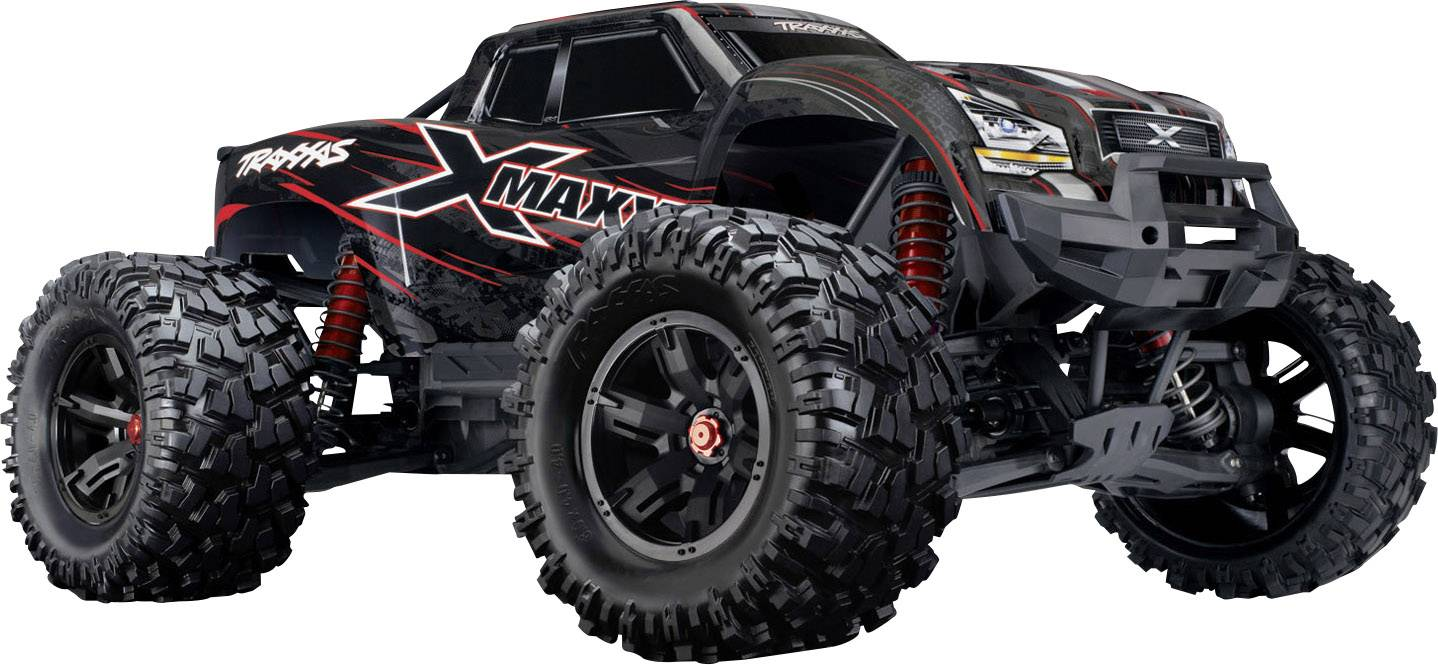Traxxas X Maxx 8s Red Brushless Rc Model Car Electric Monster Truck 4wd Rtr 2 4 Ghz Conrad Com