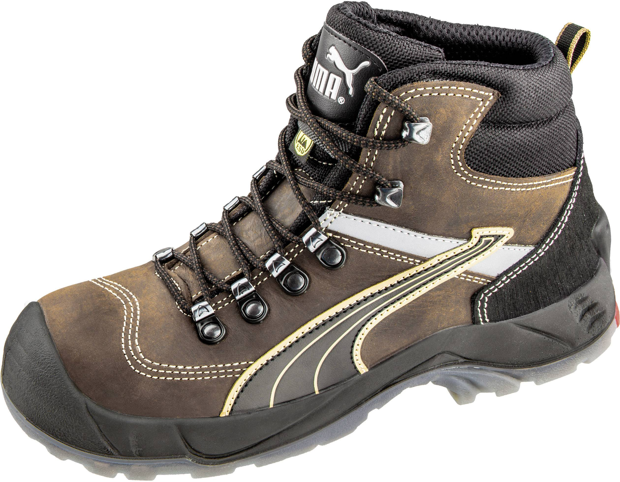 173b7bbab5c ESD protective boots S3 Size  41 Brown PUMA Safety Condor Mid ESD SRC  630122-41 1 pair