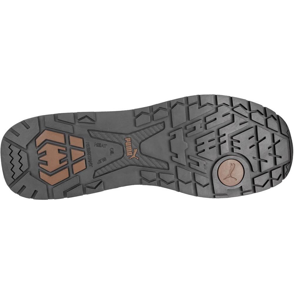 b3530ee7458 Safety work boots S3 Size: 43 Beige, Brown PUMA Safety Dash Wheat Mid HRO