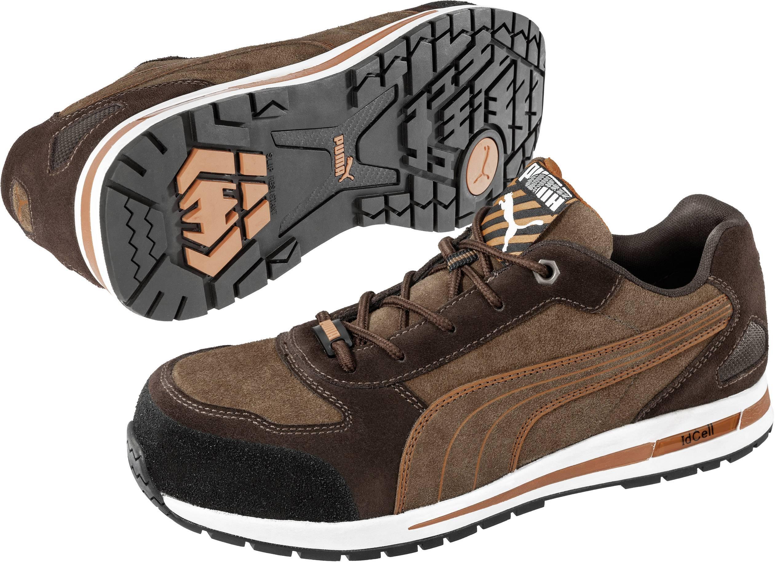 prix le plus bas c1c42 02591 Protective footwear S1P Size: 45 Brown PUMA Safety Barani ...