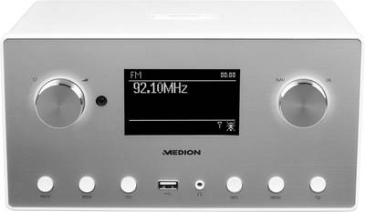 Image of Medion P85080 (MD87523) Internet Table top radio AUX, Bluetooth, DAB+, Internet radio, FM, USB, WiFi Multi-room, Spotify