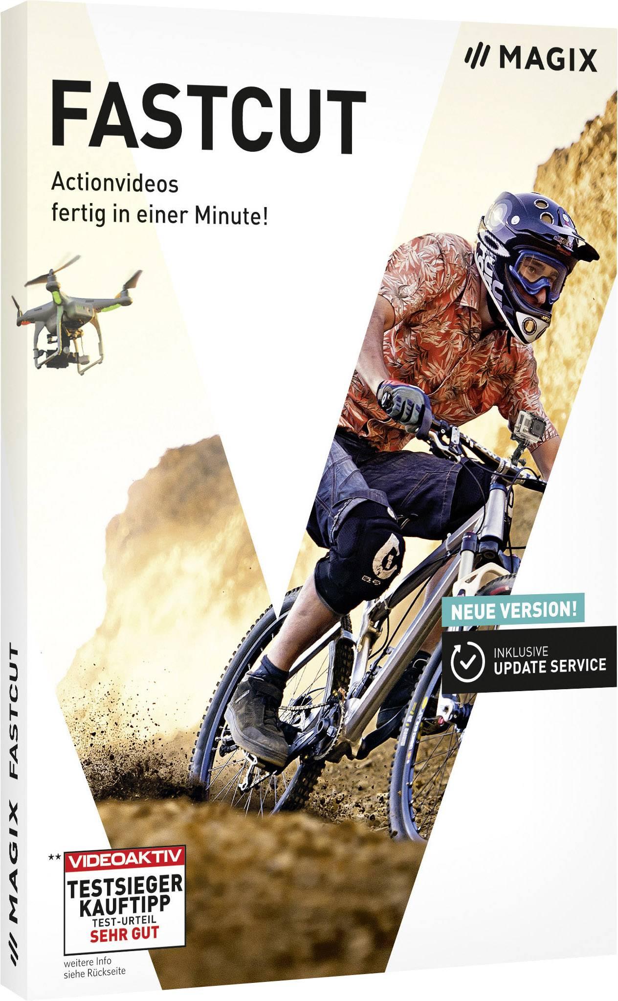 Magix Fastcut Full version, 1 license Windows Video editor   Conrad com