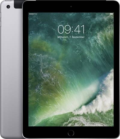 Apple iPad 9.7 early 2017 WiFi Cellular 128 GB Spaceship gre cheapest retail price