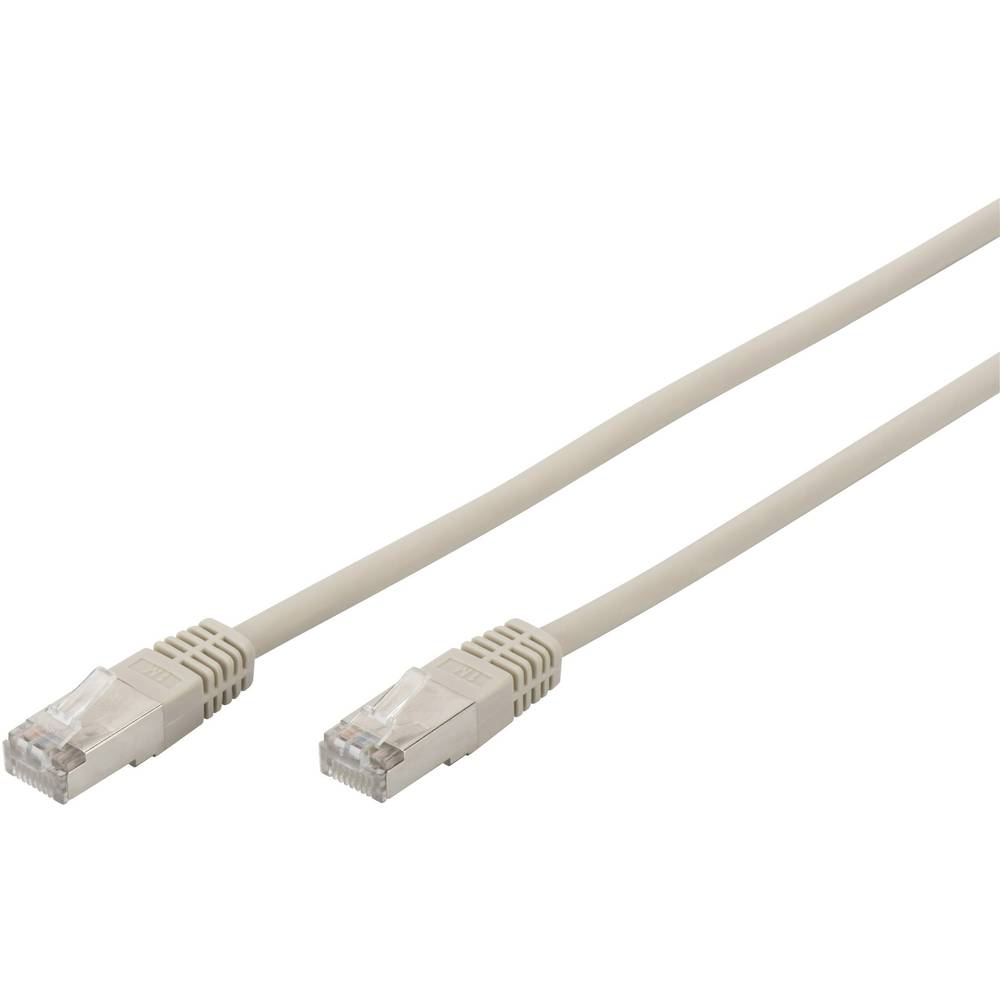 Rj45 Networks Cable Cat 5e F Utp 15 M Grey Twisted Pairs Digitus Pair Connector Professional