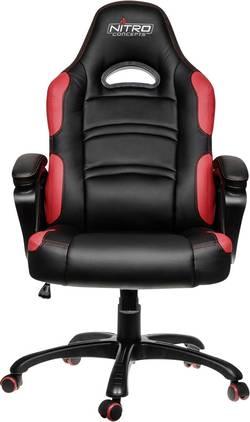 Gaming-stol Nitro Concepts C80 Comfort Svart, Röd