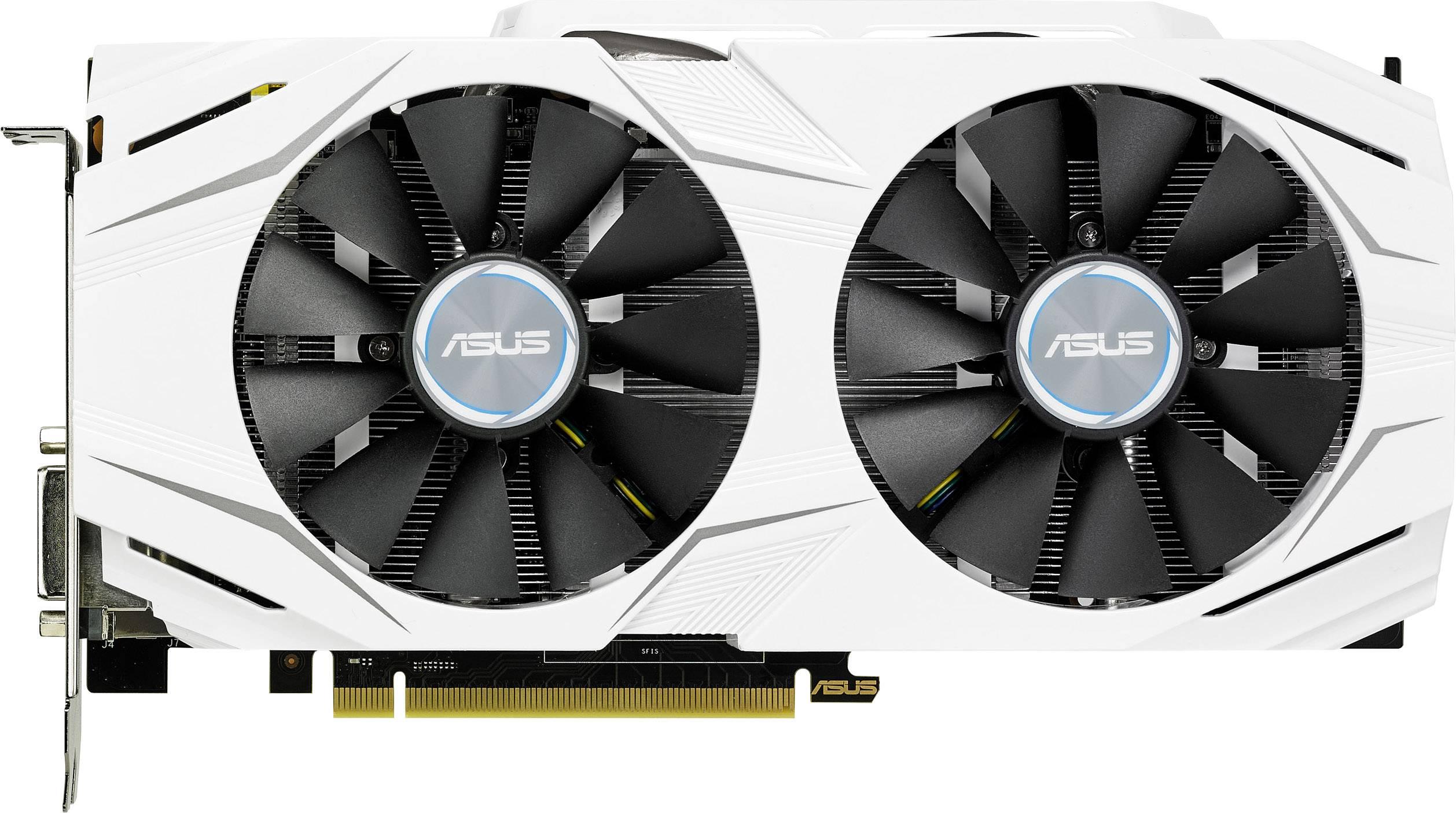 Asus GPU Nvidia GeForce GTX1060 Dual Overclocked 3 GB GDDR5
