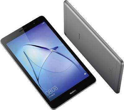 """Huawei MediaPad T3 8.0 Android 20.3 cm (8 """") 16 GB Wi-Fi, GSM/2G, UMTS/3G, LTE/4G Grey 1.4 GHz Quad Core Android™ 7.0 N"""