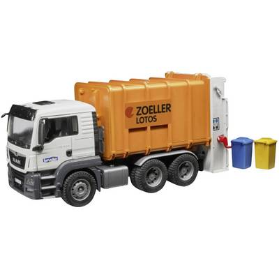 Brother MAN TGS garbage truck rear loaders 03762