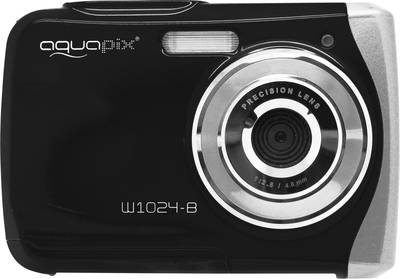 Image of Easypix W1024-I Splash Digital camera 16 MPix Black Underwater camera