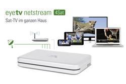 EyeTV Netstream 4Sat DVB-S2 Receiver Single cable
