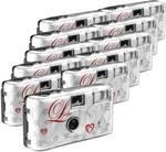 Topshot Love red hearts disposable camera