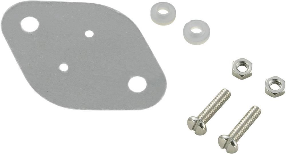 Komplet montažnega materiala za polprevodnike (D x Š) 42 mm x 30 mm primeren za TO-3 TRU Components TC-A18-9C 1 set