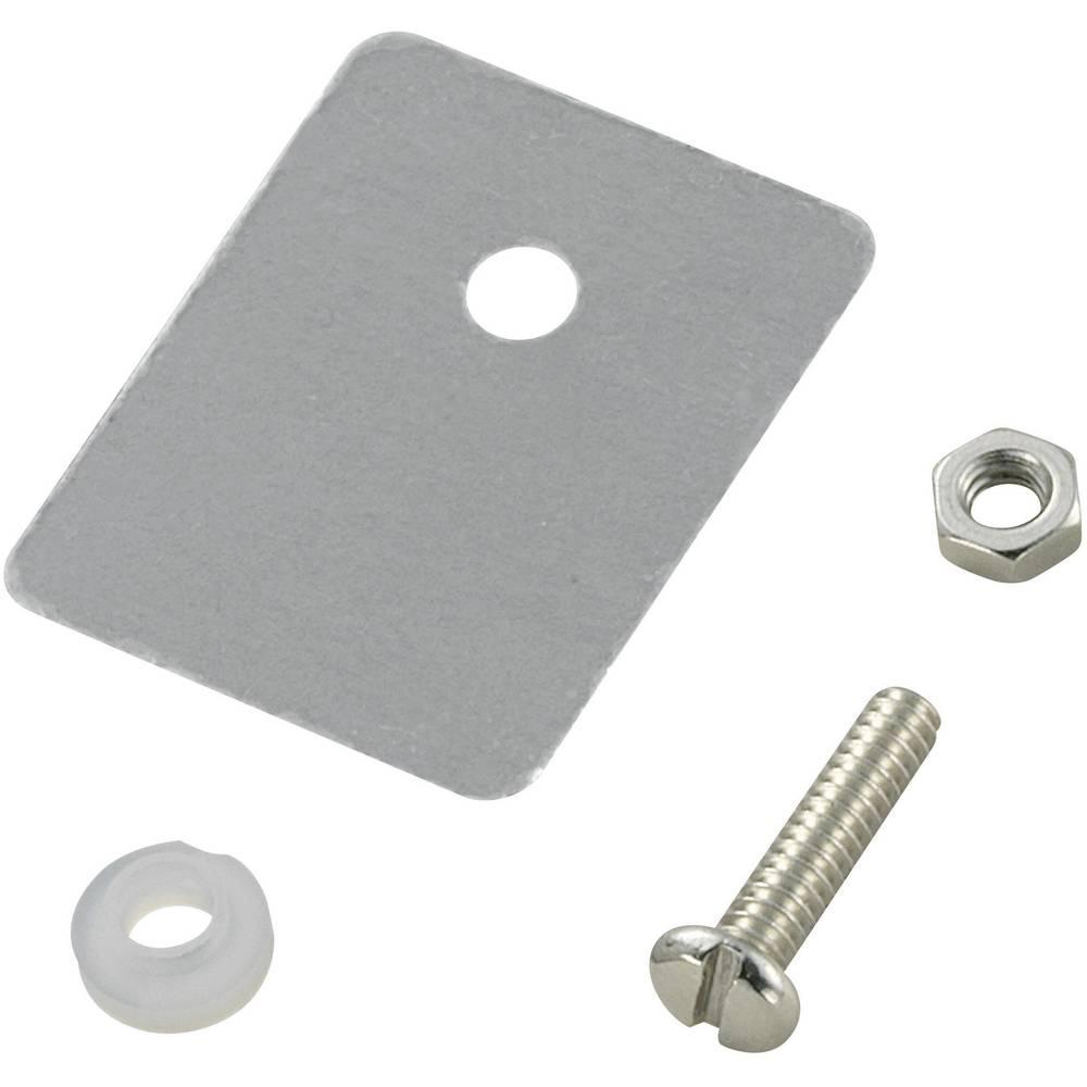 Komplet montažnega materiala za polprevodnike (D x Š) 25 mm x 22 mm primeren za TO-218 TRU Components TC-A18-9D 1 set