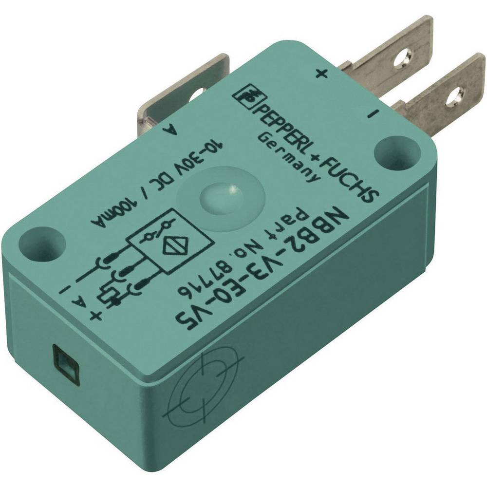 Pepperl & Fuchs Inductive proximity sensor 10 x 16 mm shielded PNP ...