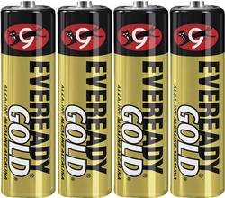 Batteri R6 (AA) Alkaliskt Eveready Gold 1.5 V 4 st