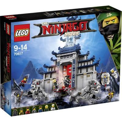 LEGO® NINJAGO 70617 The Ultimate Ultimate Temple hiding place