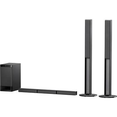 Sony HT-RT4 Soundbar Black Bluetooth, incl. cordless subwoofer, NFC