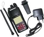 Vhf marine handheld radio set with ATIS function