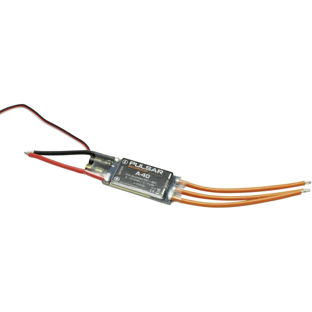 Model Aircraft Brushless Motor Controller Pichler Pulsar A 40 Load Wiring Max