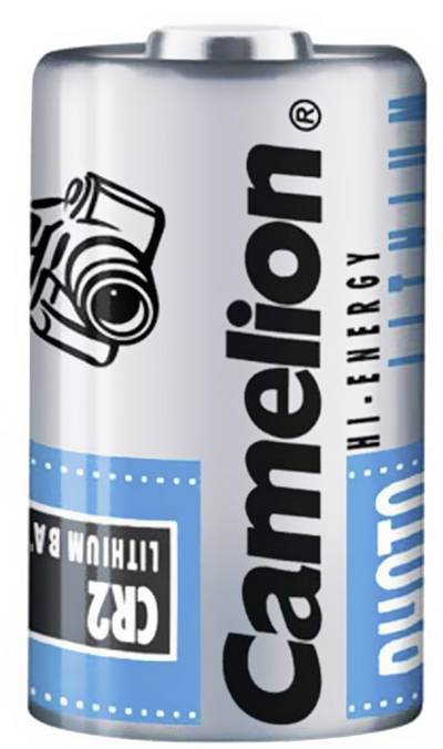 Image of Camera battery CR2 Lithium Camelion CR2 850 mAh
