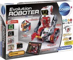 Robot byggesæt Clementoni Galileo Evolution Roboter Byggesæt, Spil-robot 1 stk