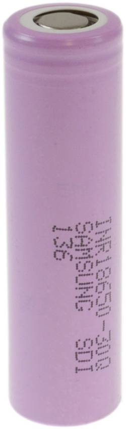 Special-batteri 18650 Flat-Top, Højstrømskompatibel Litium Samsung INR18650 30Q 3.6 V 3000 mAh 1 stk