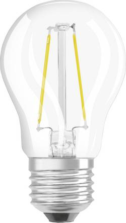 LED Klotform E27 OSRAM dimbar, Filament 4.5 W 470 lm A++ Varmvit 1 st