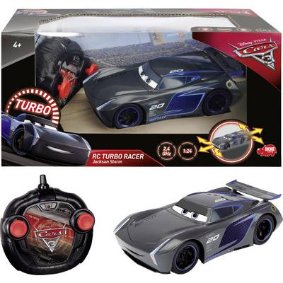 Dickie Toys 203084005 RC Cars 3 Turbo Racer Jackson Storm 1:24 R