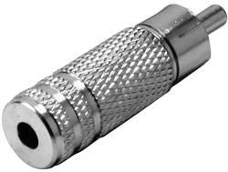 Klinken adapter, cinch vtič - klinken vtičnica 3.5 mm mono, št. polov:2 TRU Components 1 kos