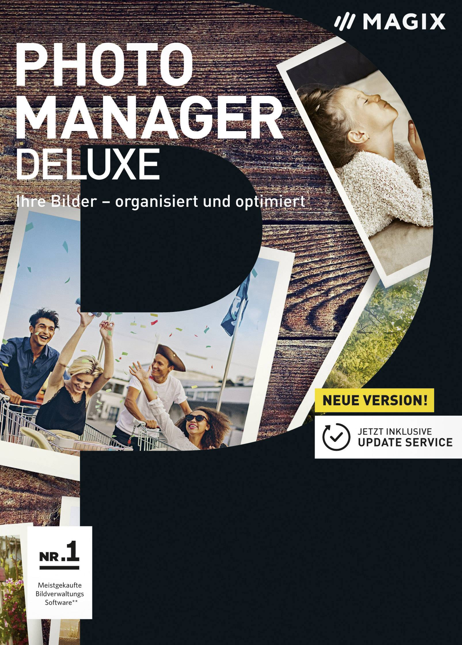 Magix Photo Manager Deluxe Full version, 1 license Windows