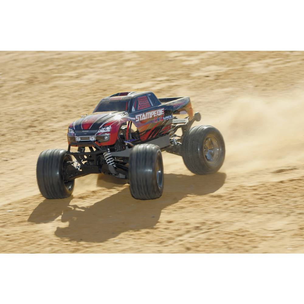 Traxxas Stampede Brushless 110 RC Model Car Electric Monster Truck 4WD RtR 24 GHz