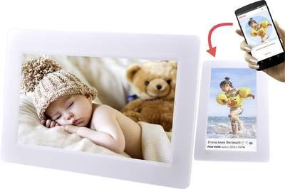 "Image of Digital Wi-Fi photo frame 17.8 cm 7 "" Denver PFF-710 White"