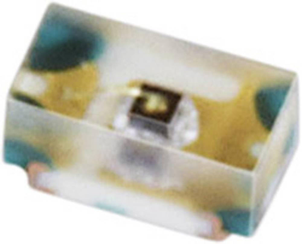 SMD LED Everlight Opto 16-213UYC/S530-A2/TR8 0402 38 mcd 120 ° Gul