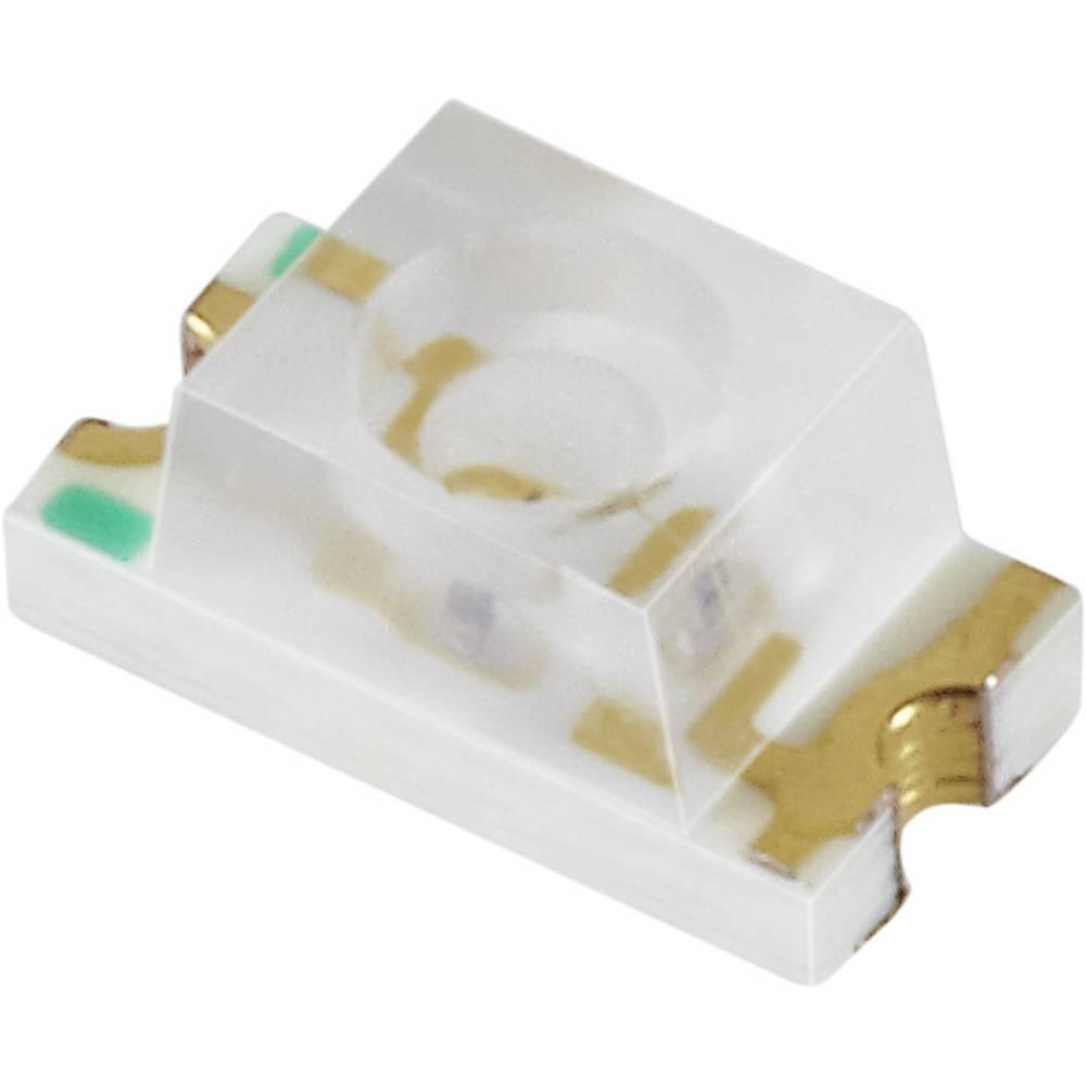 SMD-LED 1206 rumena 73 mcd 60 ° 20 mA 2 V Everlight Opto 11-21UYC/S530-A2/TR8