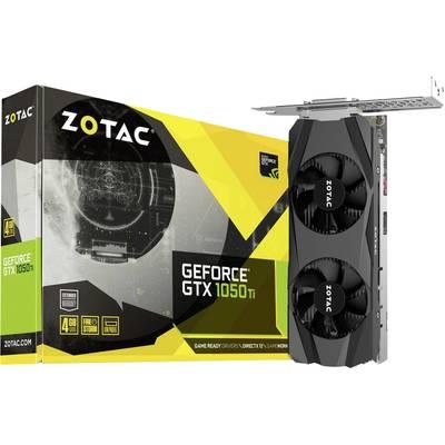 Zotac GPU Nvidia GeForce GTX1050 Ti 4 GB GDDR5 RAM PCIe x16 HDMI™, DVI, DisplayPort