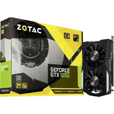 Zotac GPU Nvidia GeForce GTX1050 Overclocked 2 GB GDDR5 RAM PCIe x16 HDMI™, DVI, DisplayPort