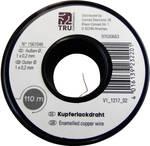 Enamel-coated copper wire ATT.NUM.EXTERIOR_DIAMETER_INSULATING=0.15 mm 220 m Conrad Components