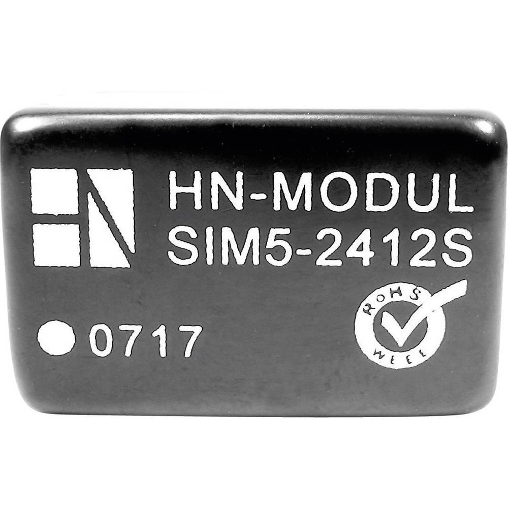 DC/DC pretvornik za tiskano vezje HN Power SIM5-1205S 12 V/DC 5 V/DC 600 mA 3 W št. izhodov: 1 x