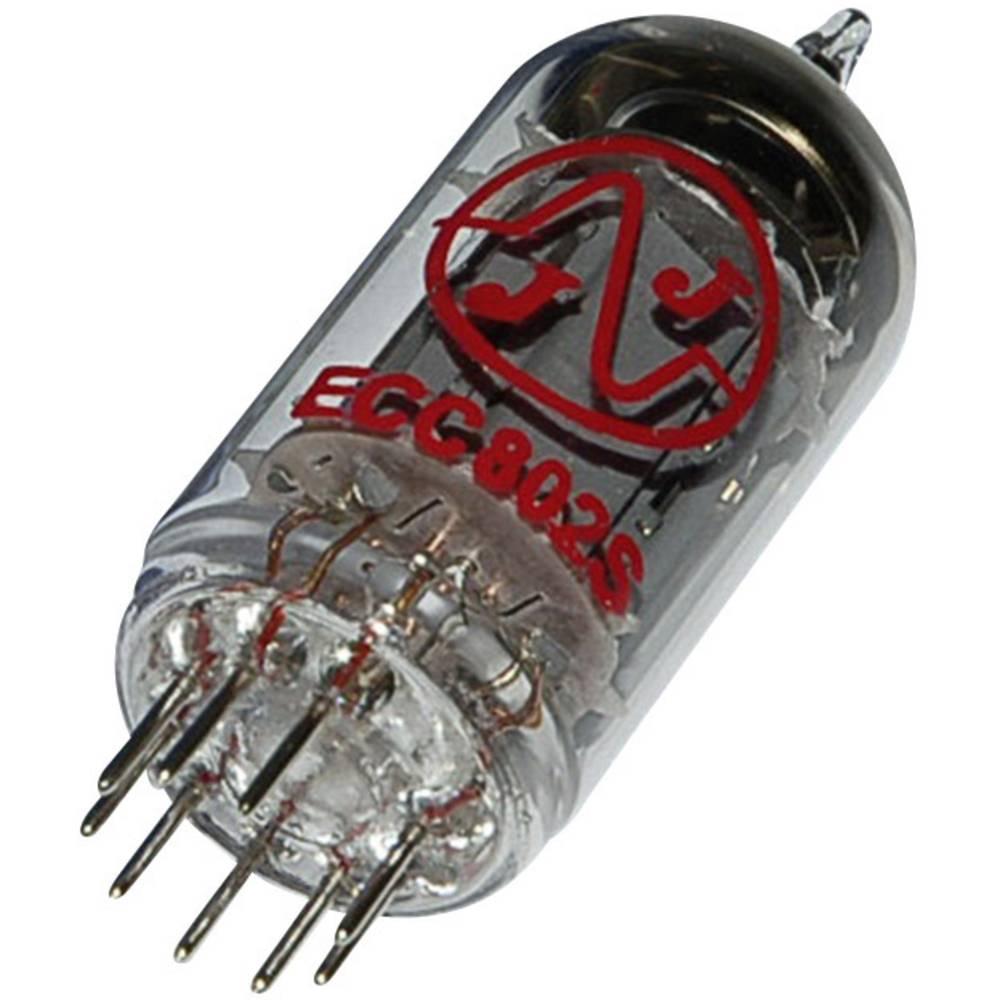 Elektronka ECC 802 s = E 82 CC dvojna trioda 250 V 10.5 mA št. polov: 9 podnožje: novalno