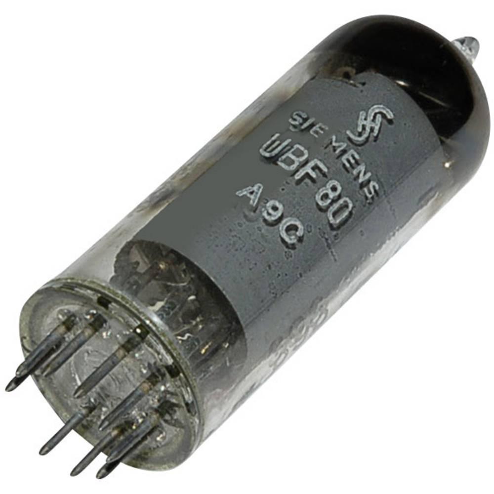 Elektronska cijev UBF 80 = 17N8 polovi: 9 Sockel Noval, opis: Diode pentoda
