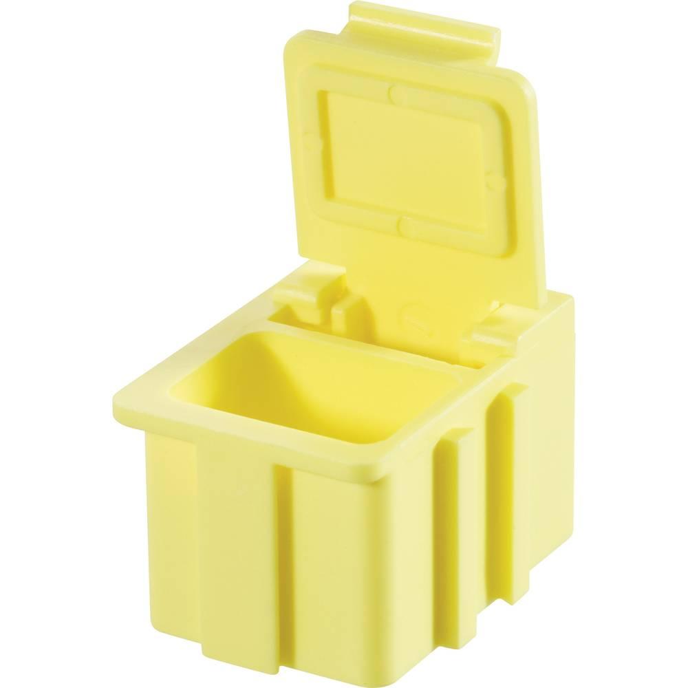 SMD škatla, rumena, barva pokrova: rumena 1 kos (D x Š x V) 16 x 12 x 15 mm Licefa N12244