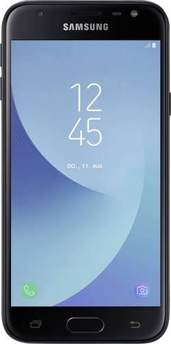 Dual-SIM smartphone 5  Samsung Galaxy J3 (2017) 16 GB Sort