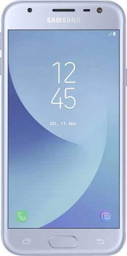 Dual-SIM smartphone 5  Samsung Galaxy J3 (2017) 16 GB Blå