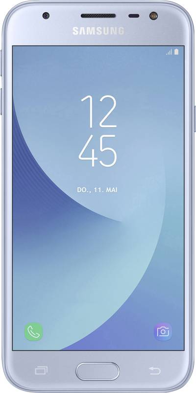 Search and compare best prices of Samsung Galaxy J3 (2017) Smartphone Dual SIM 16 GB 12.7 cm (5 ) 13 MPix Android™ 7.0 Nougat Blue in UK